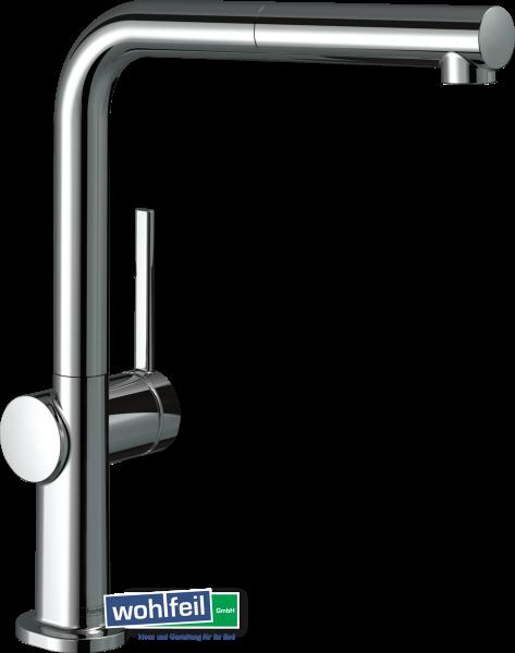 Hansgrohe Talis M54 Einhebel-Küchenmischer 270, Ausziehauslauf, 1jet, crhom