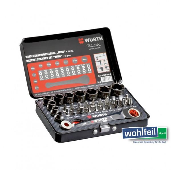 Würth Ratschenschlüssel Set Mini Limited Edition