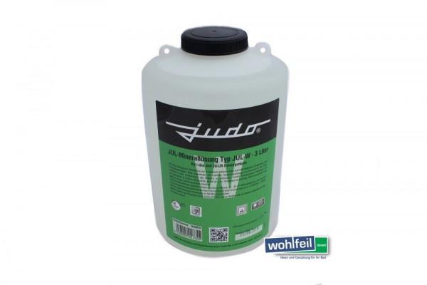 JUDO Minerallösung für Härtegrad 1+2; Jul W 3 Liter