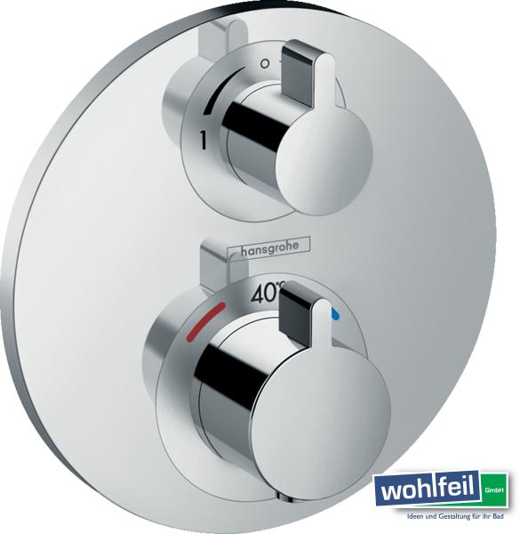 Hansgrohe Ecostat S Thermostat Unterputz für 2 Verbraucher