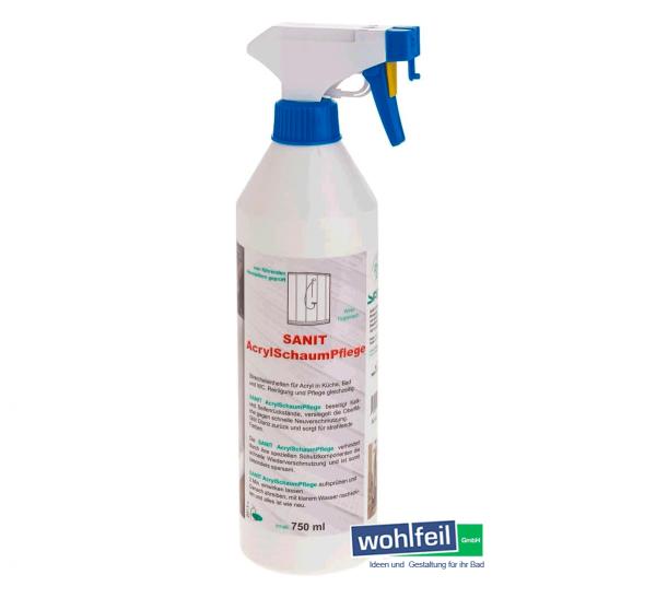 Sanit AcrylSchaumPflege 750 ml