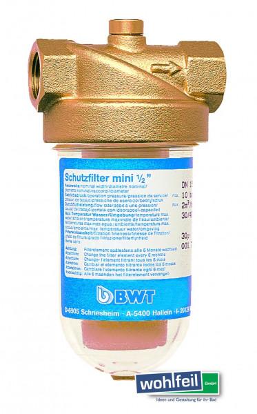 """BWT Schutzfilter mini 1/2"""""""