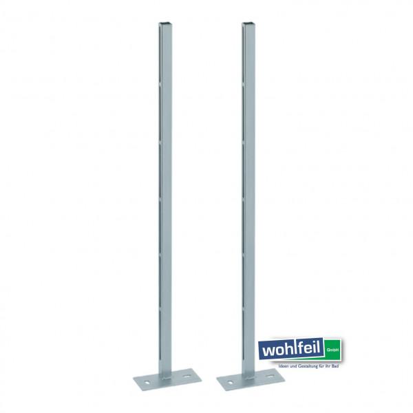 Geberit Kombifix Ständer verzinkt m. Fussplatten und Befestigungsschrauben