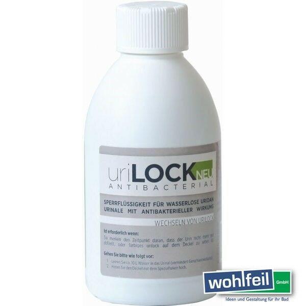 Uridan Urilock, Sperrflüssigkeit für wasserlose Urinale