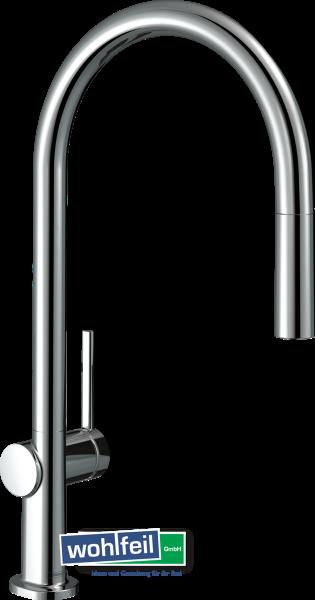 Hansgrohe Spültischmischer 210 Talis M54 Ausziehauslauf 1jet sBox - chrom