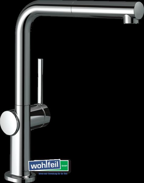 Hansgrohe Spültischmischer 270 Talis M54 Ausziehauslauf 1jet sBox - chrom